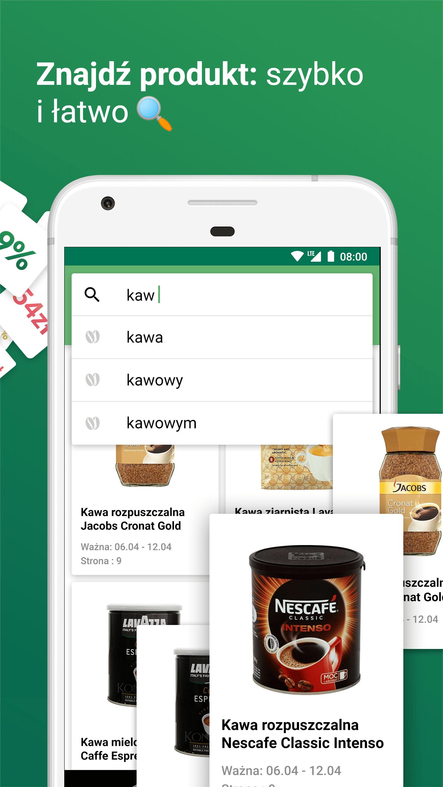 wyszukiwanie produktow w promocji